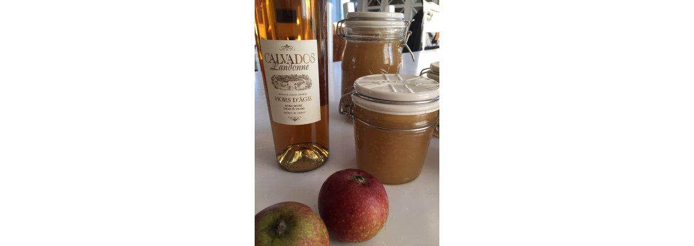 Æble marmelade med Calvados - opskrift