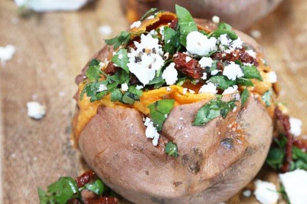 Fyldte søde kartofler - Le Cru