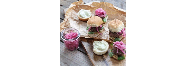 Le Cru sliders - miniburgere