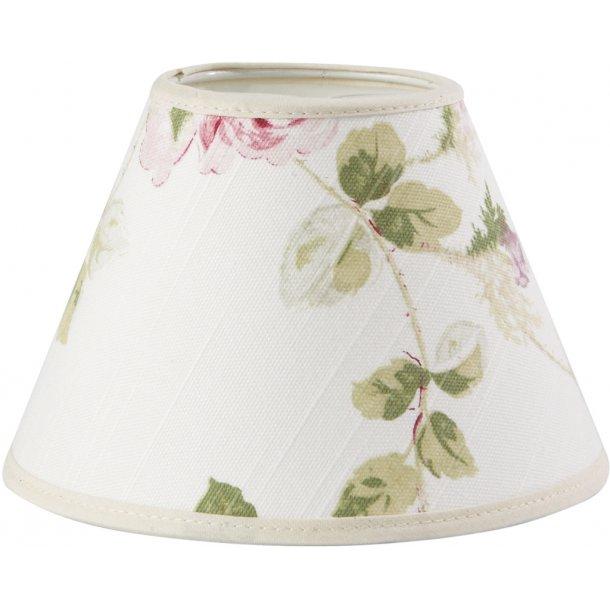 Lampeskærm - med roser