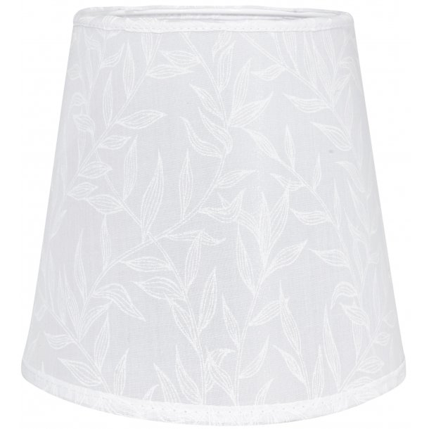 Lampeskærm - willow hvid - 20 cm