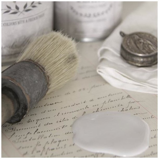 Stone grey chalk paint