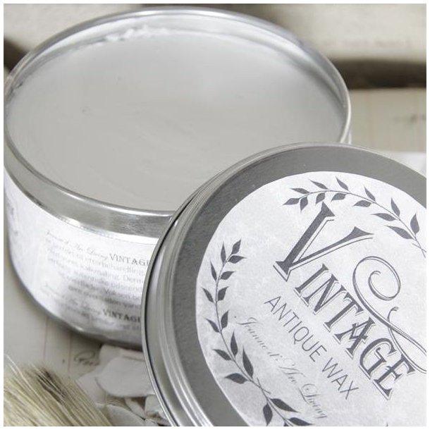 Voks - hvid antik voks - vintage - 370 ml
