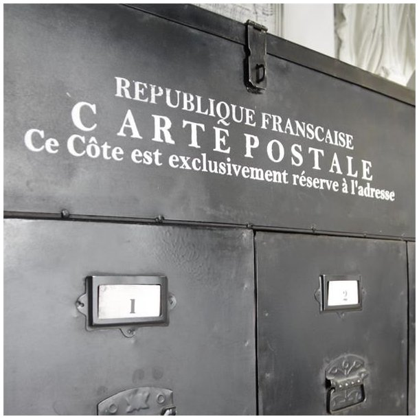 Maleskabelon - Carte Postale - engangs