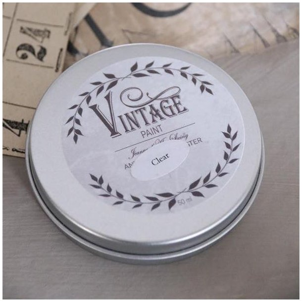 Vintage Paint voks - klar 35 gram