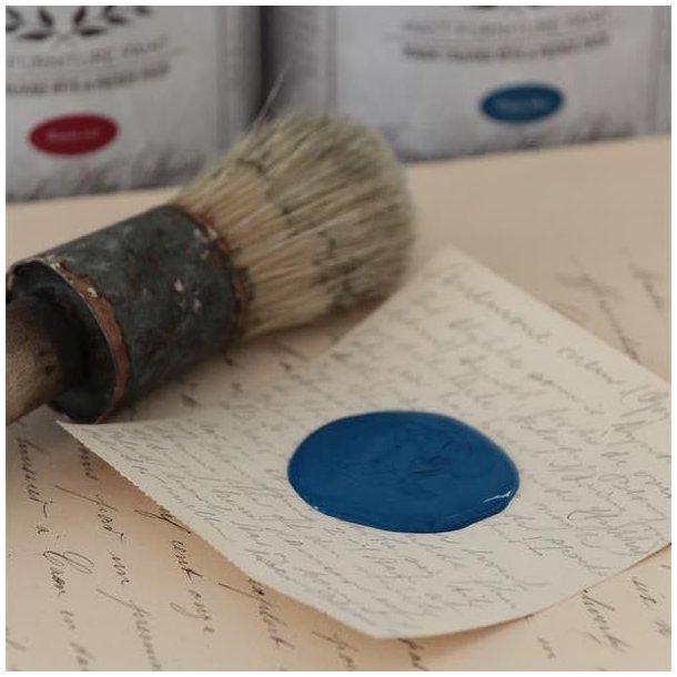 Kalkmaling - chalkpaint warm blue - blå