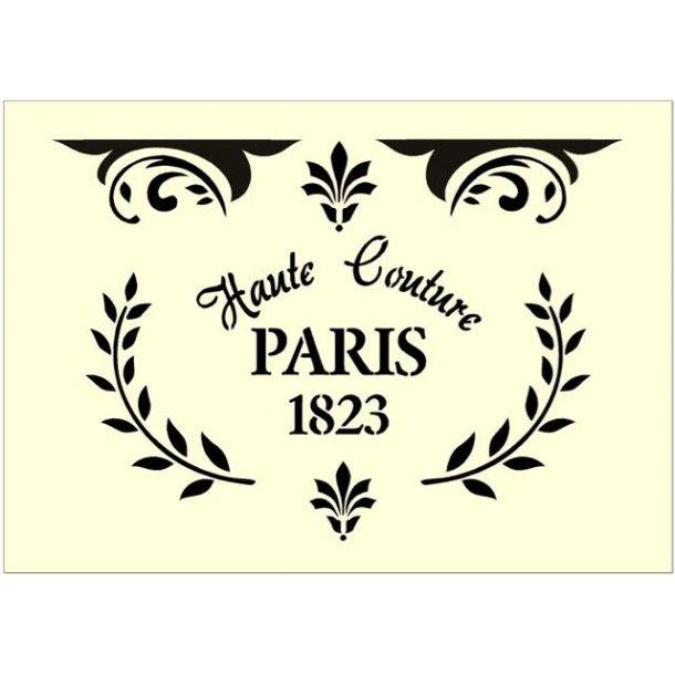 Stencil - Haute Couture Paris - str. A3