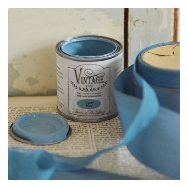 Dusty Blue - mat kalk maling 100 ml