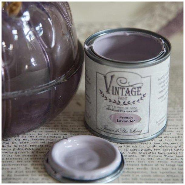 French Lavender - mat kalk maling 100 ml