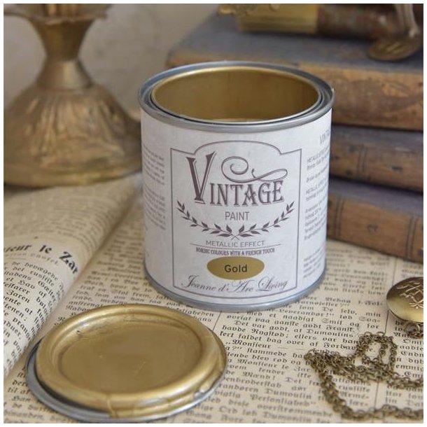 Vintage Paint - guld metal 200 ml