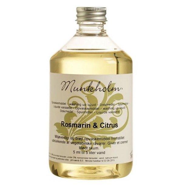Munkholm sæbe - opvask - rosmarin og citrus