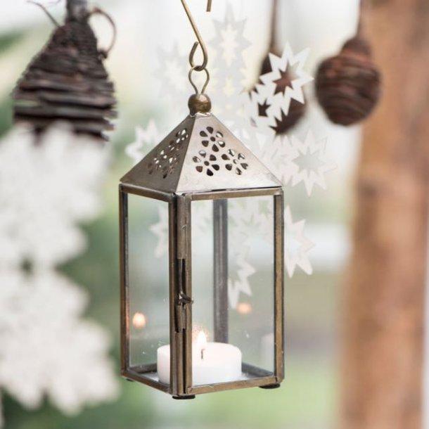 Lanterne i messing - lille