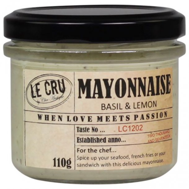 Le Cru delikatesser- mayonnaise - basilikum