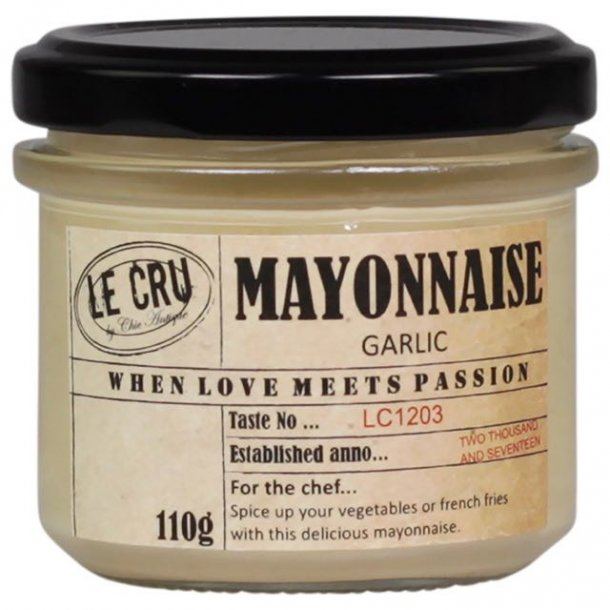 Le Cru delikatesser- mayonnaise - hvidløg