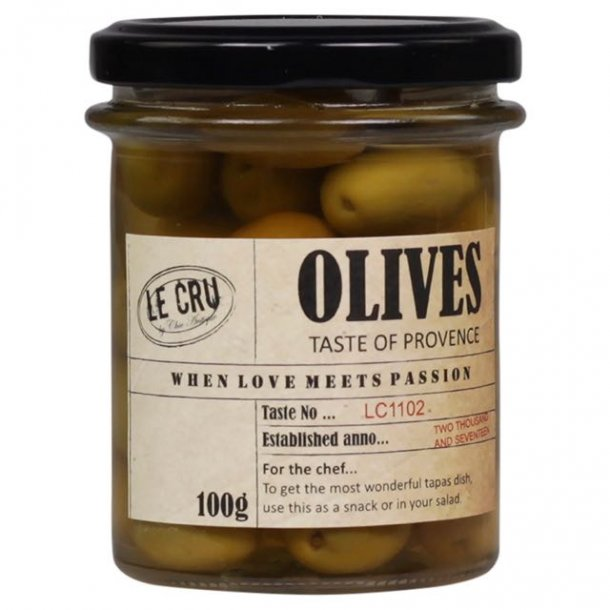 Le Cru delikatesser- oliven i provence olie