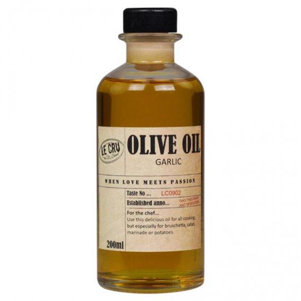 Le Cru delikatesser- olivenolie - virgin - hvidløg