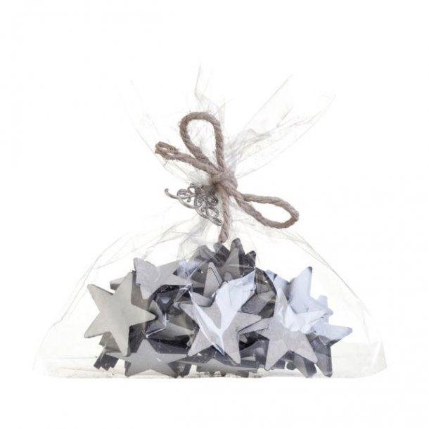 Stjerner - bordpynt til din dekoration - 40 stk
