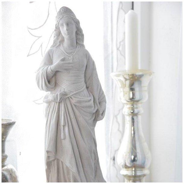 Madonna figur i gips - 40 cm