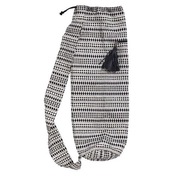 Yoga taske med mønster - EJ PÅ LAGER