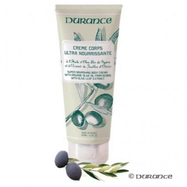 Durance - body creme - øko oliven olie