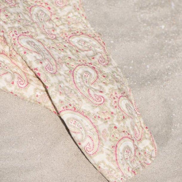Plaid / quilt i skønne sarte sommerfarver