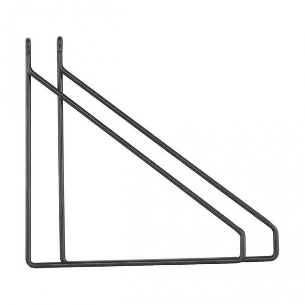 Hyldebærer - Apart - sort - 2 stk