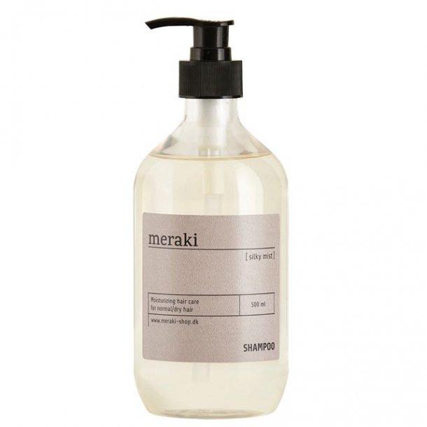 Shampoo fra Meraki - silky mist 1/2 liter