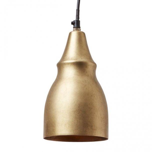 Lampe i metal - antik messing finish