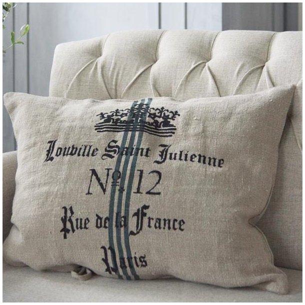 Pudebetræk i fransk landstil - Julienne