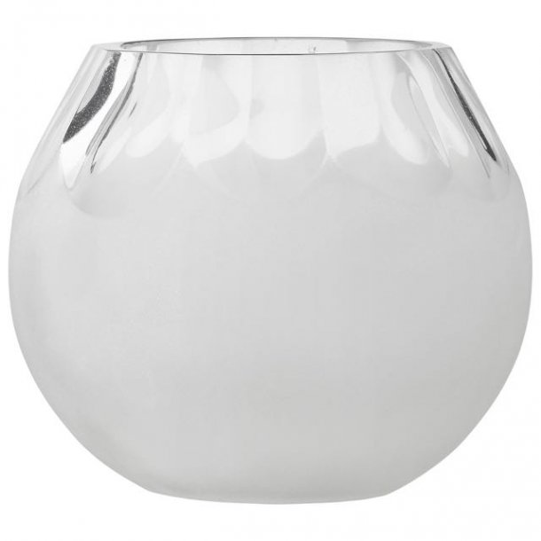 Fyrfadsstage i tykt glas - transparent