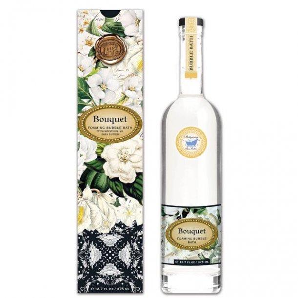 Skumbad i høj glasflaske - Bouquet