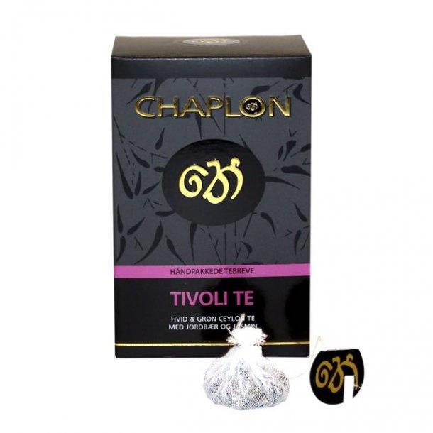Chaplon - Tivoli - grøn/hvid te - 15 breve