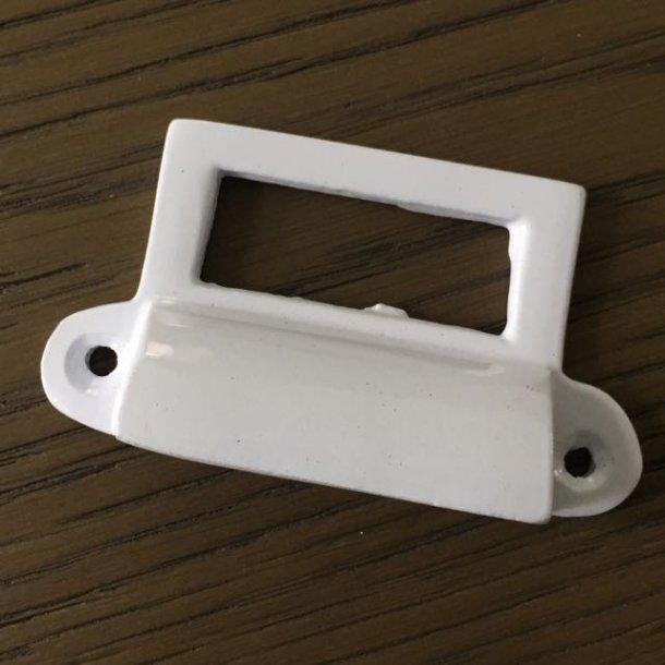 Greb - hvidt metal