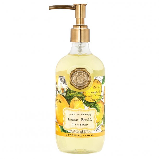 Dejlig opvask i luksus flaske - Lemon Basil