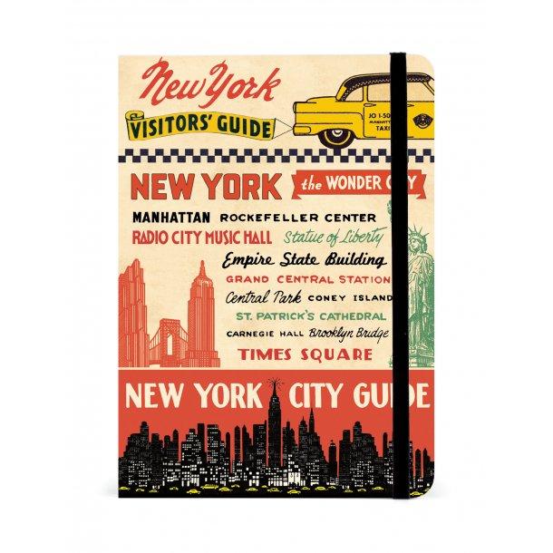 New York city guide - med plads til noter mm.