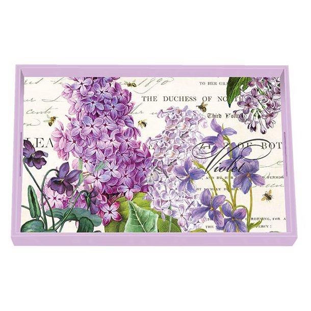 Bakke med blomstermotiv - Lilac & Violets fra Michel Design Works