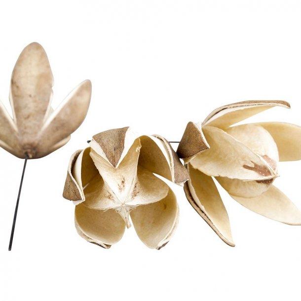 Blomst - på pind - perfekt til din dekoration