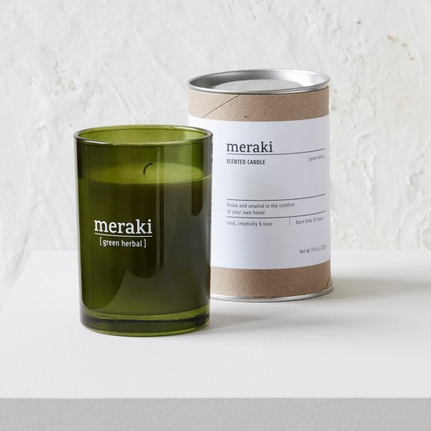Duftlys - Meraki - Green herbal