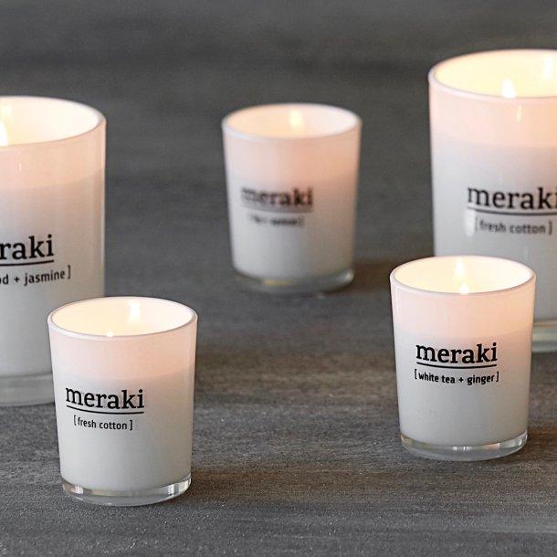 Duftlys - Meraki - forskellige dufte