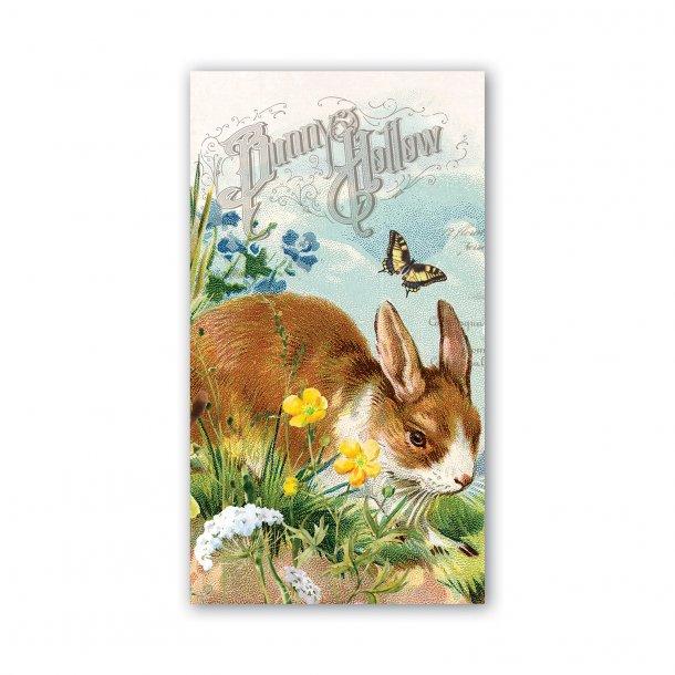 Buffetservietter - Bunny Hollow - 15 stk - påskekollektion