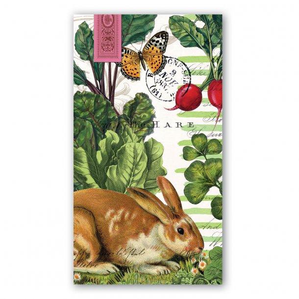 Buffetservietter - Garden Bunny - 15 stk - påskekollektion