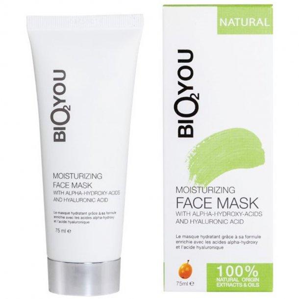 Ansigtsmaske - AHA & hyaluronic - Bio2you - 75 ml.