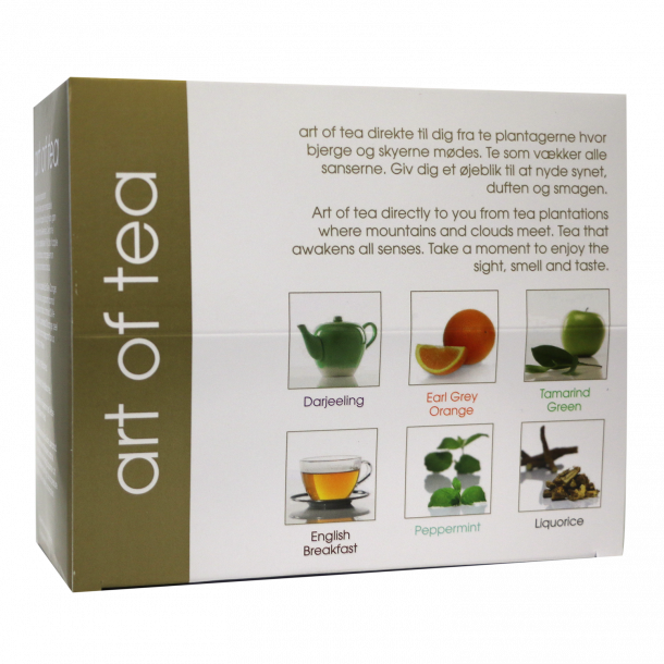Art of Tea mix - 30 breve - 6 varianter