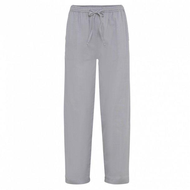 fa1963e6d52 Vivienne bukser i lysegrå - loungewear i økologisk bomuld fra Care by Me