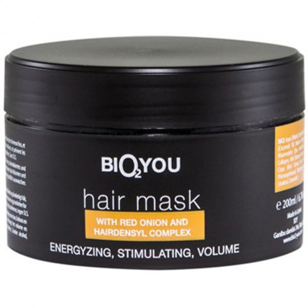 Hårmaske - hårkur - Bio2you - 200 ml.