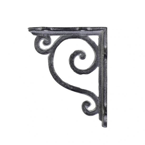 Hyldeknægt / frise i antik grå