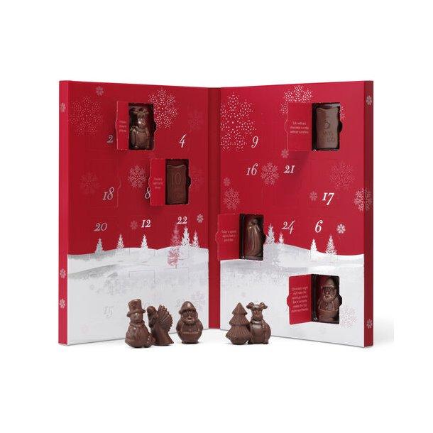 Julekalender- Hotel Chocolat - mælkechokolade