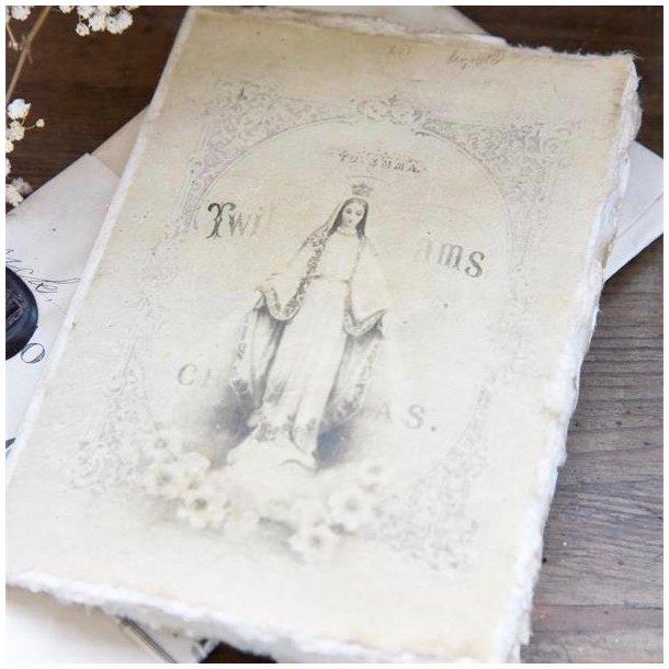 Dobbelt påskekort / forårskort - Jeanne d'Arc Living