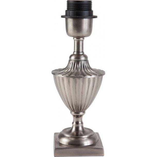 Lampefod i antik sølv - klassisk design