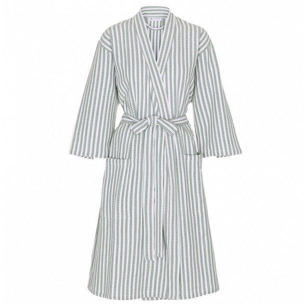fbf46ea5ebd Kathrine kimono i grøn/hvid - økologisk bomuld - Care by Me - Luksus ...